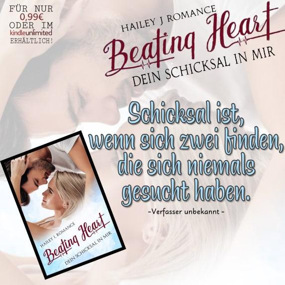 Beating Heart: Dein Schicksal in mir von Hailey J. Romance